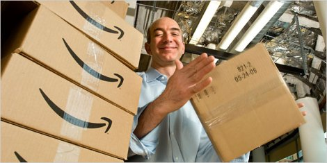 Jeffrey P. Bezos, the chief executive of Amazon.com