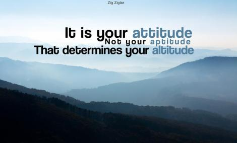 atitudinea