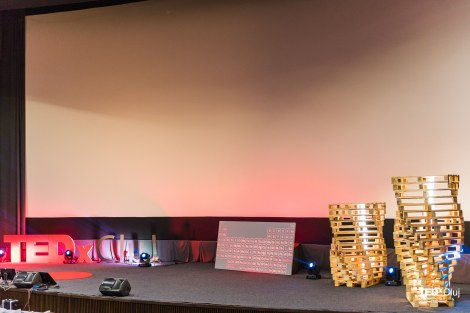 scena TEDx Cluj 2016