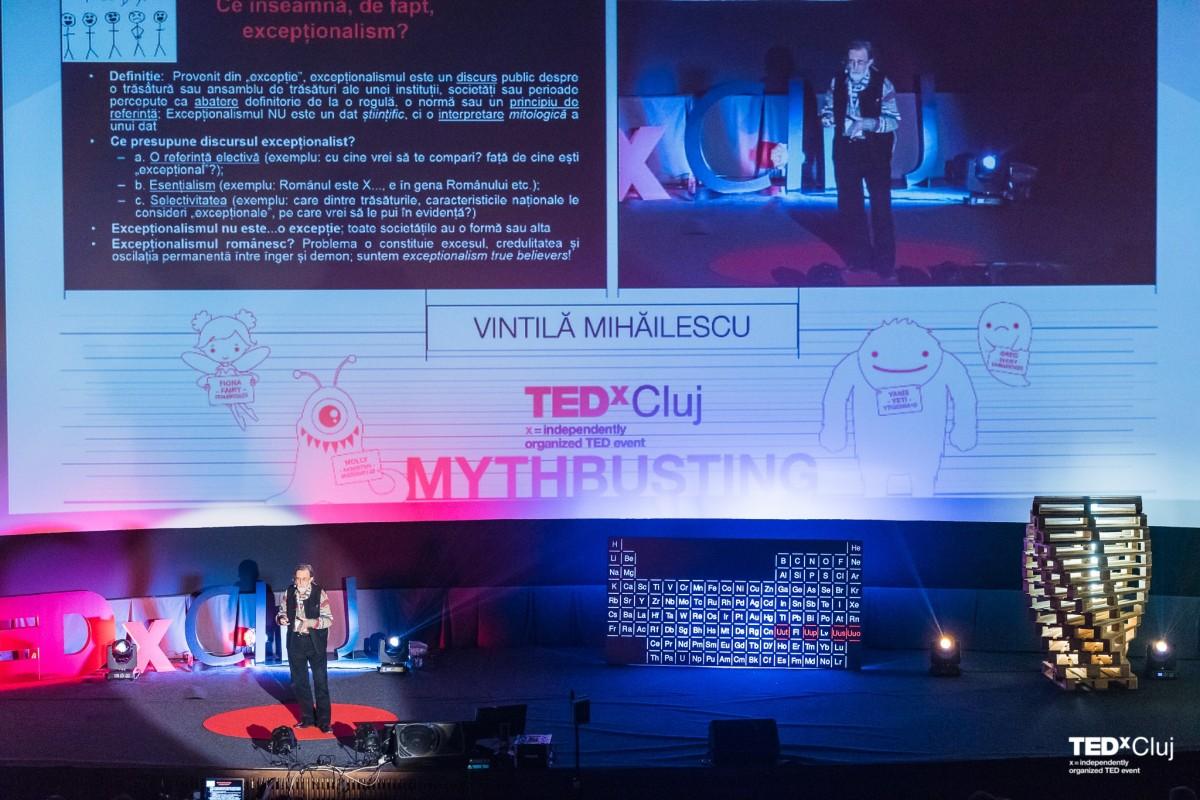 Vintila Mihailescu la tedx cluj 2016